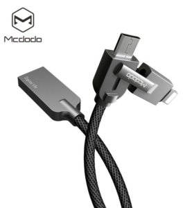 Кабель (iPhone)2 & 1(Samsung) Lightning/USB