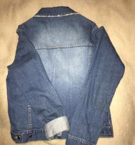 Джинсовая куртка, женская