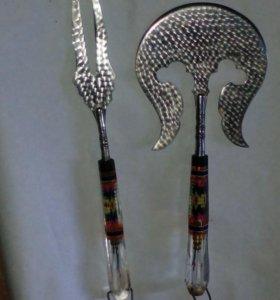 Сечка и вилка