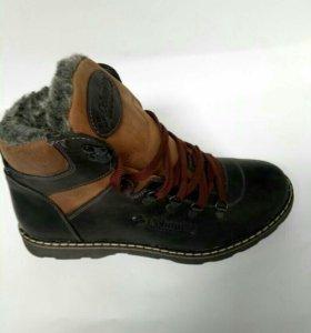 Ботинки зимние мужские Columbia 40-45
