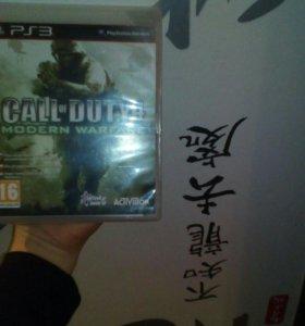 Игра на PS3 CALL of DUTY 4 modern warfare