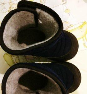Зимние сапожки kuoma 23 размер