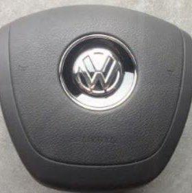 Аэрбег в руль и торпедо для Volkswagen Touareg