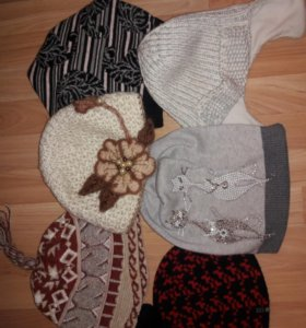 Шапки, шарфы, манишки