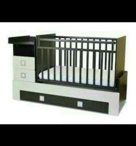 Детская кровать -трансфер