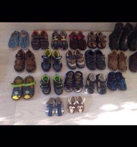 Обувь детская разная, лето, осень-весна, зима