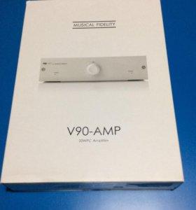 Усилитель с цап / DAC Musical Fidelity V90-AMP