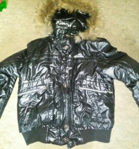 Куртка зимне-осенняя 48-50 размер