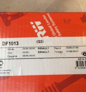 Тормозные диски на Рено,TRW DF1013
