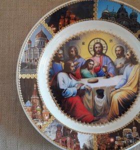 Православные тарелки и лики