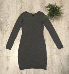 Платье hm трикотажное