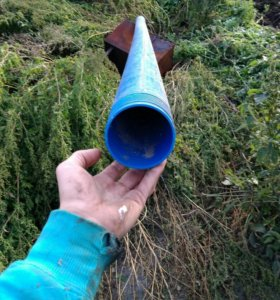 Труба НПВХ обсадная для скважин и септиков