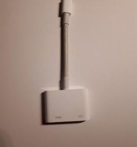 адаптер apple lightning-hdmi digital av original