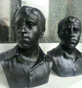 Высоцкий бюст скульптура