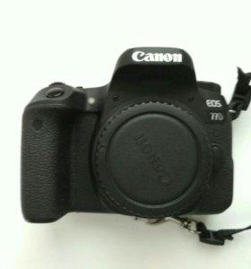 Canon 77D body