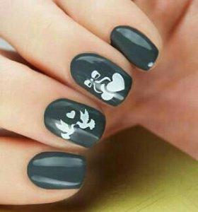 Трафареты для дизайна ногтей Esmalte T 57