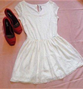 кружевное платье 🌼