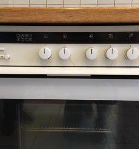 Индукционная варочная панель с духовкой Siemens