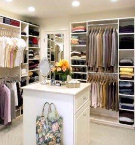 Чемодан одежды и обуви