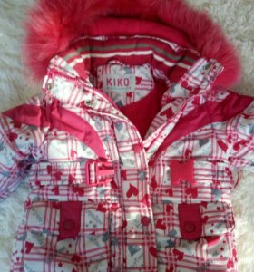 Зимнии костюм фирмы KIKO, 92 размер