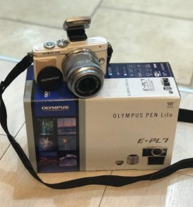 Фотоаппарат Olympus E-PL7 Pancake Zoom Kit White