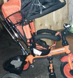 Велосипед (коляска)детский 3-х колесный.
