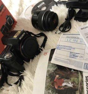 Зеркальный проф.фотоаппарат Sony a35