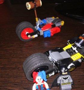 Lego super heroes DC погоня на байках