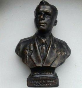 Бюст скульптура Гагарина Юрия