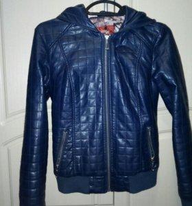 Куртка из кож.зам на осень
