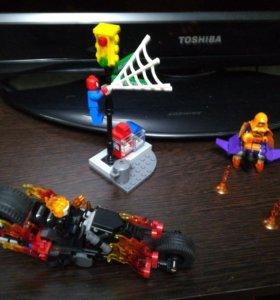 Lego super heroes погоня за хобгоблином