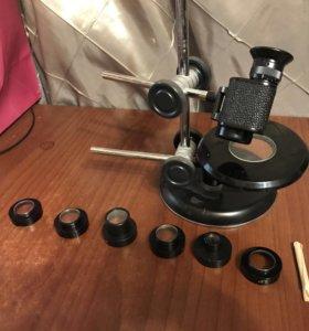 Лупа лпш 474 телескопическая с рукояткой комз СССР