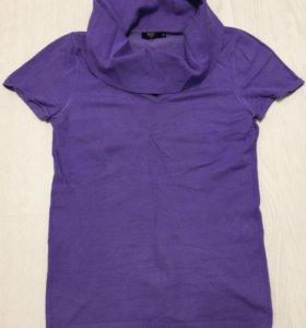 Трикотажная, плотная футболка