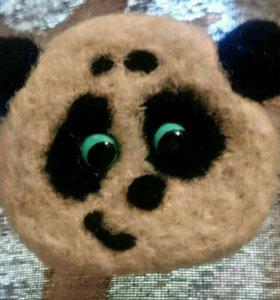 Брошь-панда