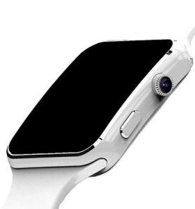 Умные часы smart watch E6 белые