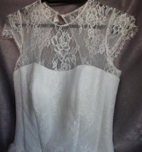 Свадебное платье после химчистки42 44 46