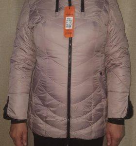 Новая теплая зимняя куртка фирмы Mishele