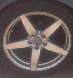 Литые диски R18