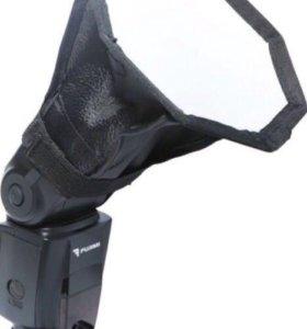 Универсальный рассеиватель для фотовспышки
