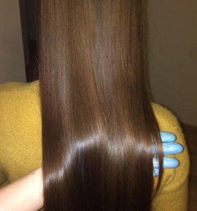 Кератиновое выпрямление , ботокс лечение волос