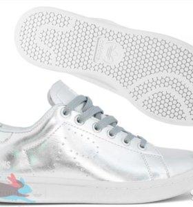 Adidas Stan Smith X Raf Simons серебряные (36-40)