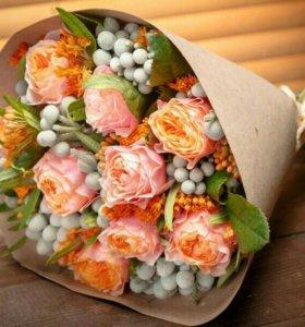 Букеты и цветы на праздник
