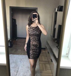 Новое леопардовое платье AX Paris