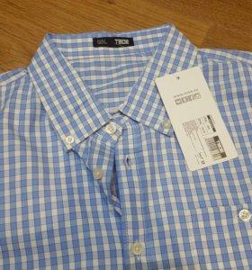 Новая мужская рубашка р. 50(L)ТВОЁ