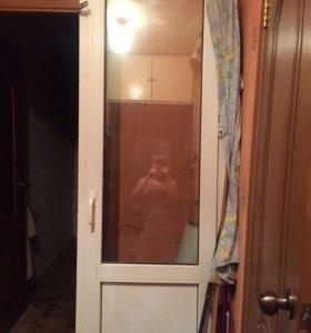 Дверь пластиковая балконная новая