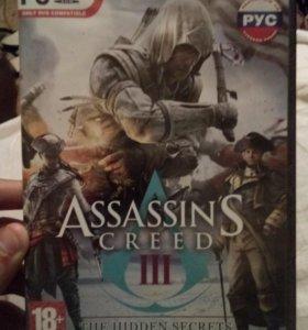 Игра Assassin's creed 3 + чек