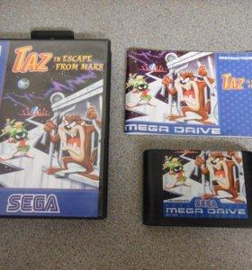Taz in Escape From Mars для Sega Mega Drive 2