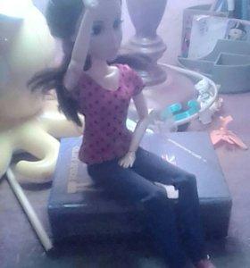 Кукла барби в отличном состоянии на шарнирах