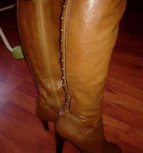Сапоги ,кожаные,обувь
