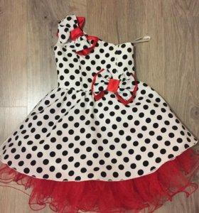 Красивое платье 98см